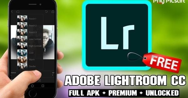 Adobe Lightroom MOD APK (Free Premium Unlocked)
