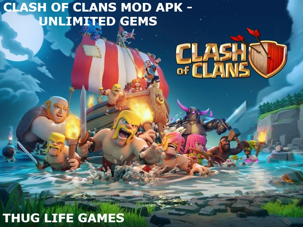 Clash Of Clans Mod Apk – Unlimited Gems