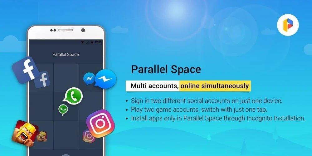 Parallel Space Mod APK 4.0