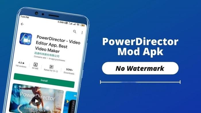 PowerDirector MOD APK 9.0.1 (Premium Unlocked)