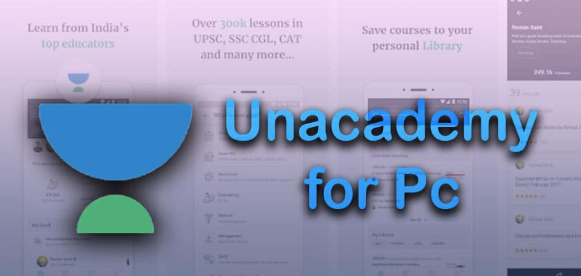 Unacademy Learning App For Windows