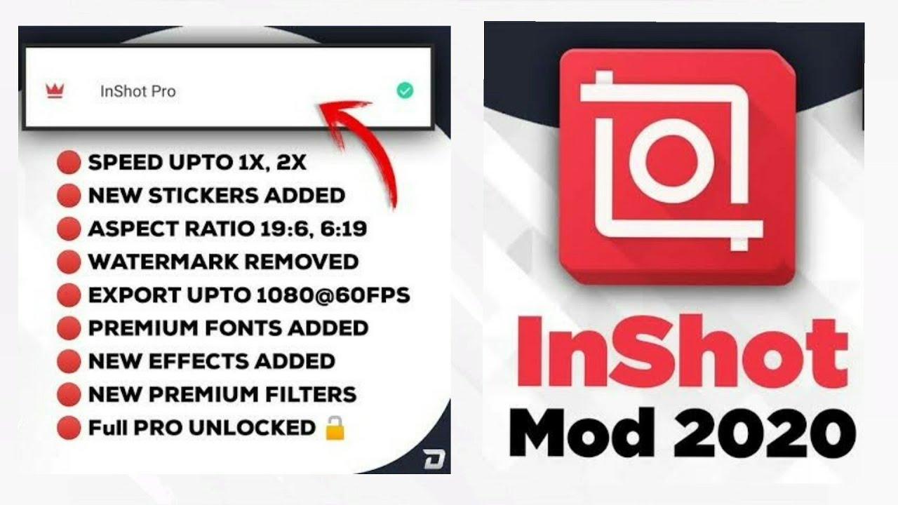 Download: InShot Pro MOD APK Free 1.740.1328 (All Unlocked)