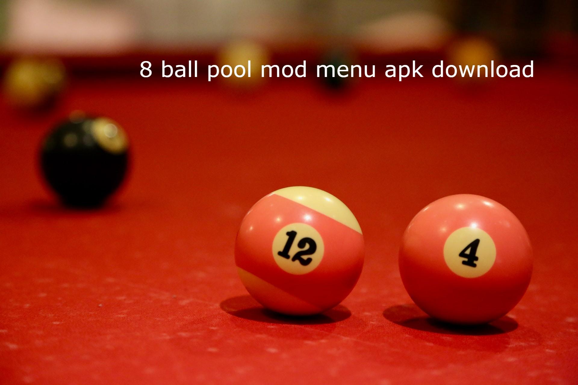 8 Ball Pool Mod Menu Apk Download Free
