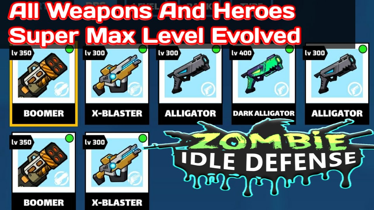 Zombie Idle Defense Mod APK Latest Version