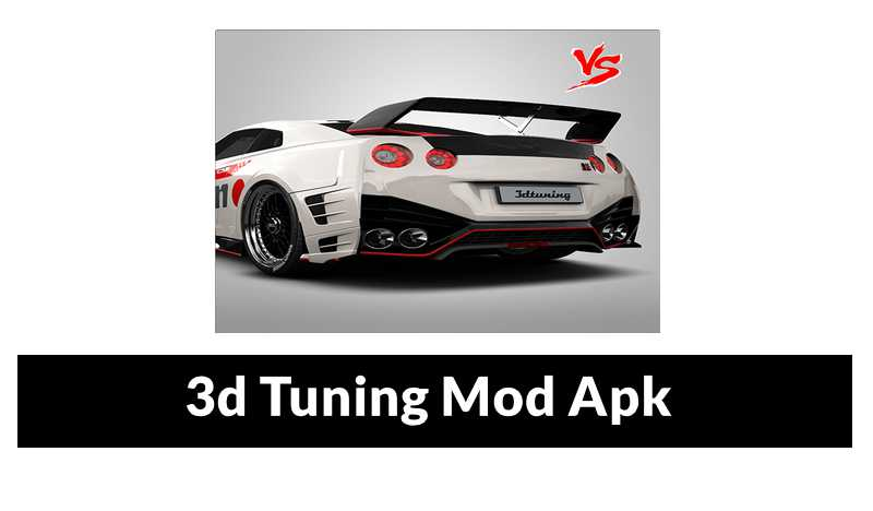 3DTuning MOD APK [Unlocked + Unlimited Gold]