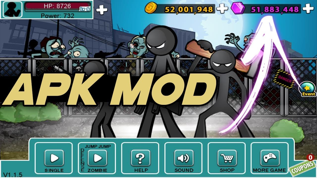Anger of Stick 5 APK MOD Latest Version [Unlimited Money]