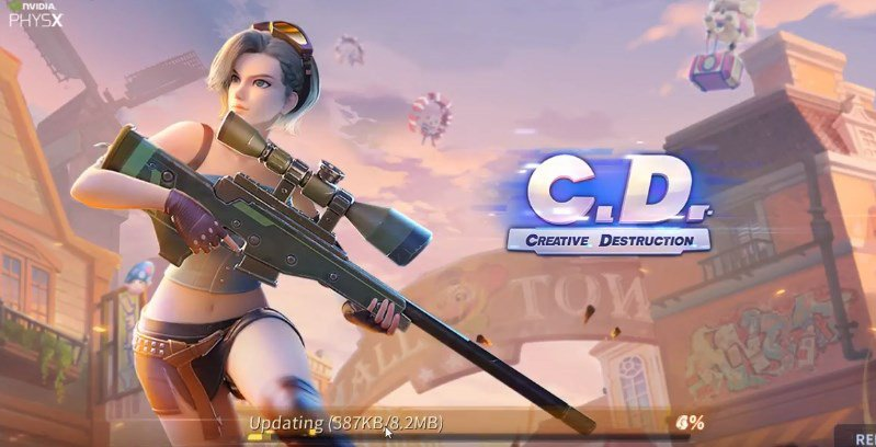 Creative Destruction MOD For Android [Unlimited Money]