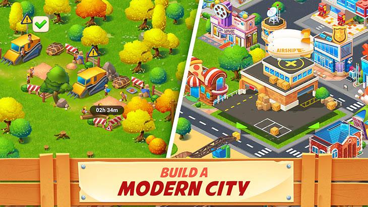 Farm City Farming And City Building Mod APK