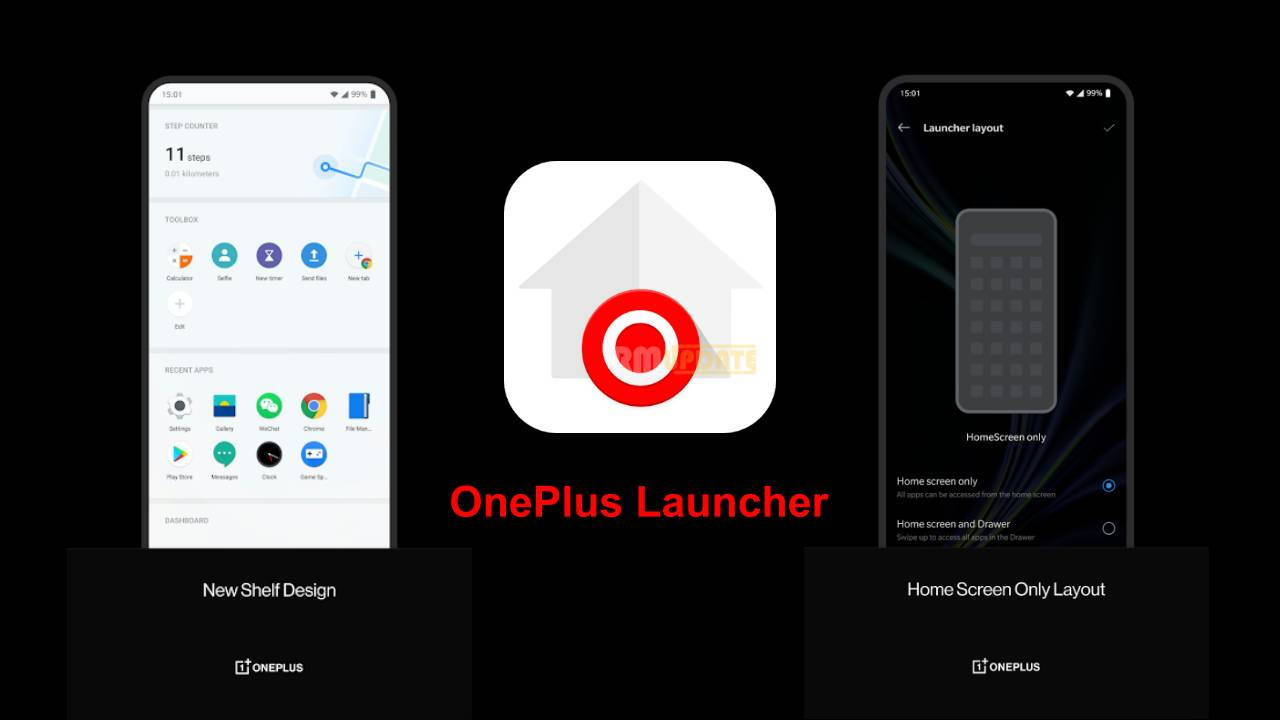 Download OnePlus Launcher For Android-Latest Version.