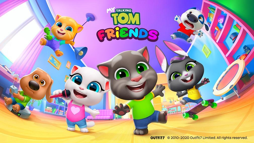 My Talking Tom Friends MOD APK [Unlimited Money]