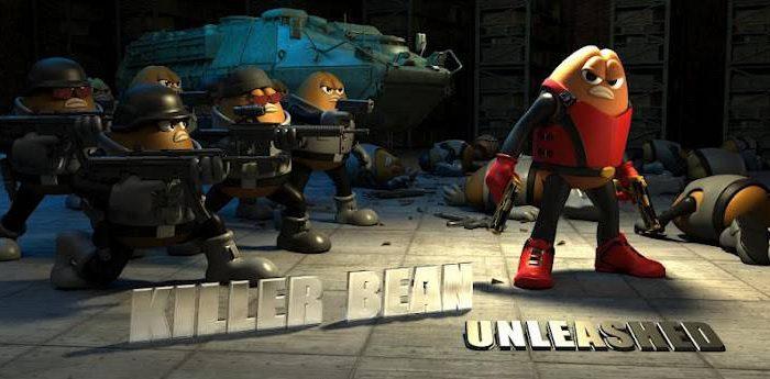 Killer Bean Unleashed MOD Apk (8x Reward/Coins & Ammo)