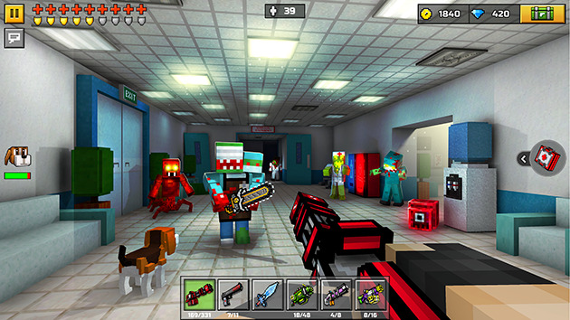 Pixel Gun 3D unlimited money