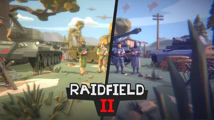 Raidfield 2 mod apk
