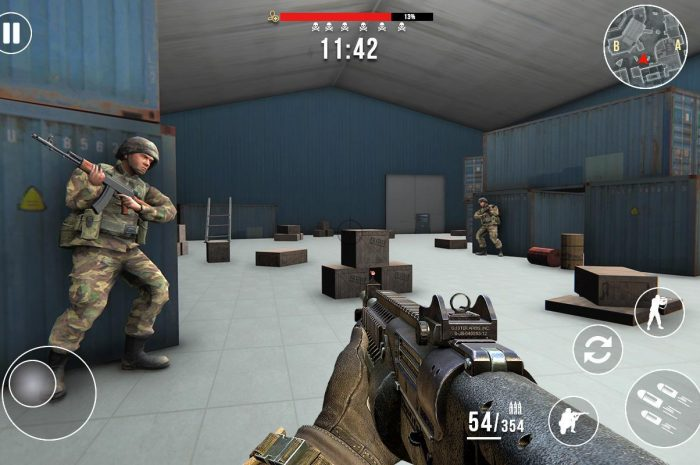 Gun Strike Fire: Free FPS Firing Mod Apk 1.2.1 [Unlocked]
