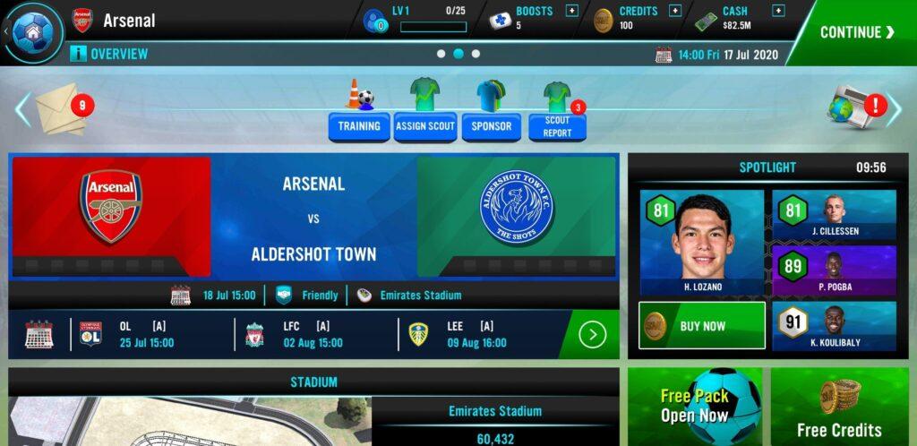 Soccer Manager 2021 Mod Apk