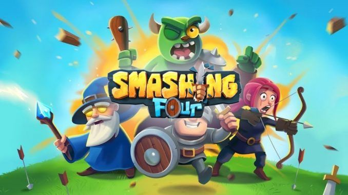 Smashing Four Mod APK 2021 [Unlimited Money/Gems/Gold]