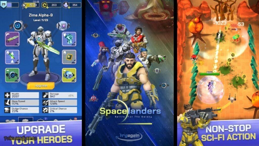 Spacelanders Mod Apk